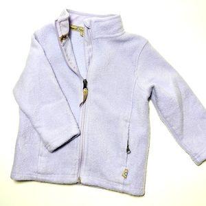 Gander Gang Kids 3T Fleece Purple Zip Up